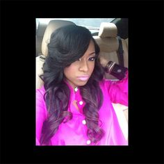 Celebrity Hair: Toya Wright Feeling Herself With Fresh VB Hair Extensions