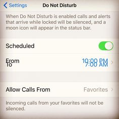 Secret #iPhone setting. If you don't want to be disturbed at a certain time, set a schedule. Tap Settings > Do Not Disturb and turn on Scheduled. Then set a time. #rest #sleep #nodisturbplease #komandoflashtip #kimkomando