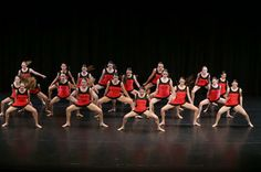 Marie Walton-Mahon Dance Academy on stage at the 2013 Sydney Eisteddfod Dance of Champions