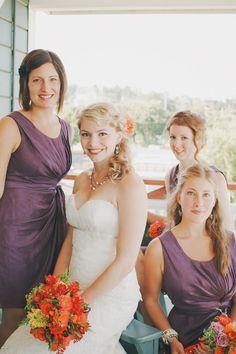 Bridesmaids wore BHLDN #BHLDNbride