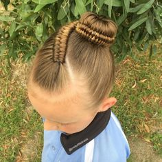 "Shelley Gifford from Melbourne, Australia, sends her daughter Grace to school every day with the most beautiful braids you've ever seen.""Growing up I always l Cute Girls Hairstyles, Kids Braided Hairstyles, Cute Hairstyles, Braids For Kids, Braids For Long Hair, Beautiful Braids, Toddler Hair, Love Hair, Hair Dos"