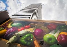 Fresh Harvest ArtWorks mural in Cincinnati