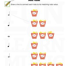Music Notes Worksheet Minute Sample - C to G&#39 (With Hints) | Work ...