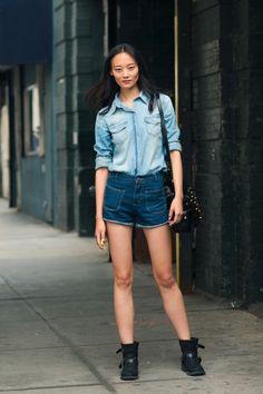 NYFW S/S13 Li Xiao Xing