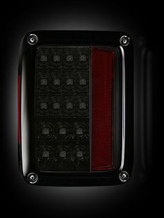RECON Part # 264234BK Jeep 07-13 JK Wrangler LED Tail lights - Smoked Lens