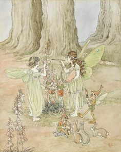 Ida Rentoul Outhwaite - Finishing Touches