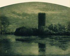 Domenico Riccardo Peretti Griva, Ninfa (la Pompei medioevale), 1925 ca.