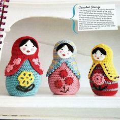 Mollie Makes Crochet Russian Dolls