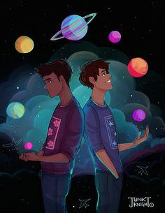 aristotle and dante discover the secrets of the universe | aaddtsotu | aristotle mendoza x dante quintana | aridante
