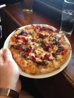 Kangaroo Pizza in #Sydney.  I ate this about 1 month ago and it was surprisingly delicious!
