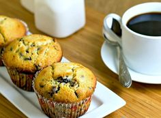 Simple Basic Chocolate Chip Muffins