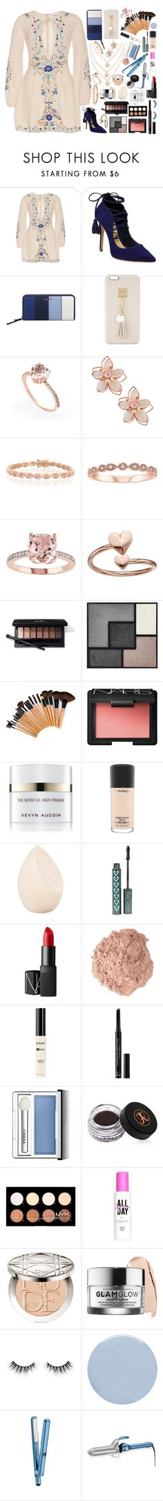 """""""Not My Usual!"""" by sodenoshirayuki-kuran ❤ liked on Polyvore featuring Schutz, Nine West, Iphoria, NAKAMOL, Bling Jewelry, Alex and Ani, Yves Saint Laurent, NARS Cosmetics, Kevyn Aucoin and MAC Cosmetics"""