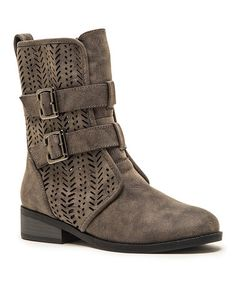 Another great find on #zulily! Brown Plateau Boot #zulilyfinds
