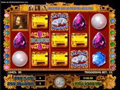 Davinci Diamonds™ Slot Machine Game to Play Free in IGTs Online Casinos