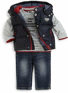 Armani Junior Infant's Baby Puffer Vest