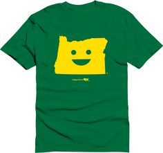 Happy state Co. oregon shirt available at http://www.kickstarter.com/projects/happystateco/happy-state-co-state-themed-shirts