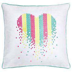 "Cuore Decorative Pillow 18"" X 18"""