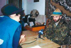 Basaev in hat
