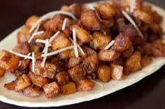 parmasan roasted potatoes .. looks easy