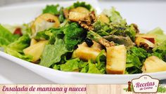 Ensalada de manzana y nueces con aliño de miel y lima - La ensaladas de frutas son refrescantes y recurrentes en mi menú durante todo el año; aun cuando las temperaturas parecen pedir a gritos un plato caliente. En invierno, la manzana es uno de los ingredientes habituales de estas, bien combinada con otras frutas como la naranja o con frutos secos c... - http://www.lasrecetascocina.com/2014/01/23/ensalada-de-manzana-y-nueces-con-alino-de-miel-y-lima/
