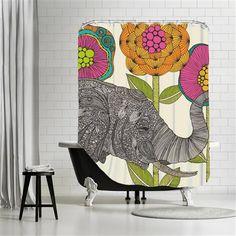Valentina Ramos - Aaron, Shower Curtain, 180x180