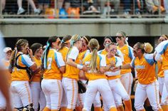 University of Tennessee Lady Vols Softball 2014