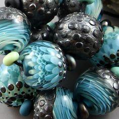 Magma Beads Liquid Metal Handmade Lampwork Beads | eBay