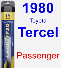 Passenger Wiper Blade for 1980 Toyota Tercel - Assurance