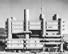 yamanashi broadcasting & press center : [kenzo tange, 1962-66]