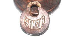 Antique US Samson Pancake Lock, Industrial Locks, Salvage, Antique Alchemy Locks, Selling Online, Alchemy, Pancake, Antique Brass, Jewelry Art, Industrial, Etsy, Antiques