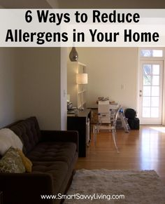 6 Ways to Reduce Allergens in Your Home