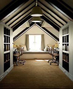 attic dressing room
