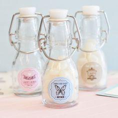 personalized baby shower mini glass bottles eb2150bv baby mini bottle