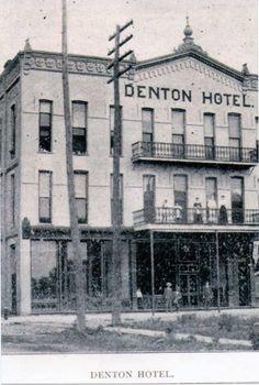 Denton House circa 1890 corner of Campbell & Olive