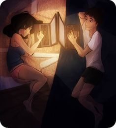 drawing of couples with distance Distance Love, Long Distance Gifts, Relationship Goals Pictures, Cute Relationships, Couple Drawings, Love Drawings, Anime Couples, Cute Couples, Innocent Love