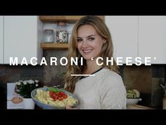 Niomi Smart - Macaroni 'Cheese' with Roasted Tomatoes | Eat Smart | Wild Dish - YouTube