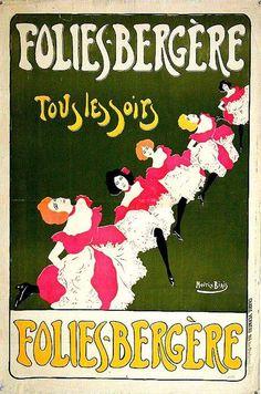 Folies Bergere    Maurice Biais, 1895.