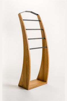 Solid oak wood Clothes stand PLUTOO wooden clothes valet
