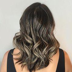Sombre love! 😍 @foxandjane @colorado_stylist @american_salon @modernsalon @behindthechair_com #foxandjane #foxandjanecolorado #coloradosprings #colorado #coloradospringsstylist #coloradospringssalon #waves #sombre #brunette #balayage #curls #saturday #womenshair
