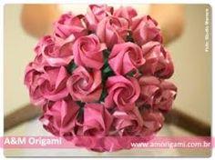 Resultado de imagem para buquê origami
