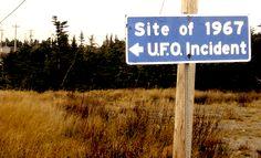 UFO SHAG HARBOUR 1967 NOVA SCOTIA