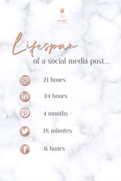 How long does your content last on social media platforms ?