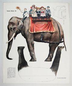 Danske Billeder 216 [Elefant]