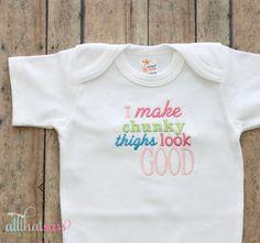 https://www.etsy.com/listing/118903538/baby-girls-funny-bodysuit-baby-shower?ref=listing-4  Baby Girls Funny Bodysuit  Baby Shower by AllThatSassBoutique, $18.00