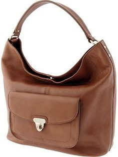 Melissa leather hobo | Banana Republic  This a great everyday Fall bag!