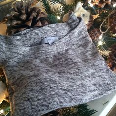 """LOFT hi- low shimmer sweater Beautiful heather brown a n cream sweater with silver shimmer. Boat neck. Sleeves come to the elbow with a cute cuff, shown in last pic. Measures approx 19"""" in front and 22"""" in the back from shoulder to hem. Size M. LOFT Sweaters"""