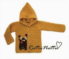 Free pattern for this adorable cardigan ... RuttuNuttu. English version of pattern can be found here: http://villasukatjapipa.blogspot.ca/2012/03/mooko-cardigan-pattern.html