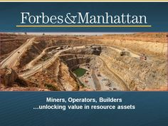 Forbes & Manhattan - Alder Provides Corporate Update and Announces the Honourable Pierre Pettigrew, PC, to Present at PDAC