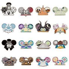 Disney Parks Ear Hat Mystery Pin Pack | Disney StoreDisney Parks Ear Hat Mystery Pin Pack - Perk your ears for a true mousekadeal with this Mystery Pin Pack containing a set of five randomly selected pins from a collection of 16 designs in the Ear Hat series. You won't know which you've got until you open the pack.