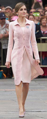 13 Jun 2016 - Queen Letizia conducts a ceremonial flag presentation. Click to read more